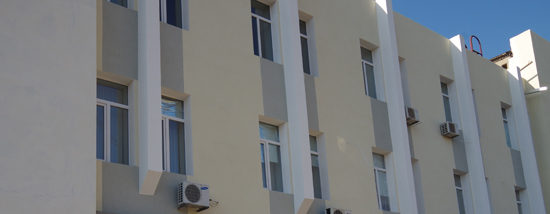 фасад, отделанный анфиселаном К-15 Caparol